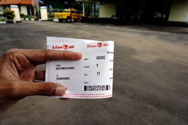 Memesan Tiket Pesawat ke Karimunjawa di Traveloka