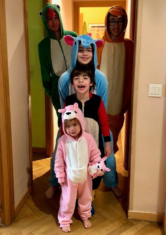 Fiesta de pijamas
