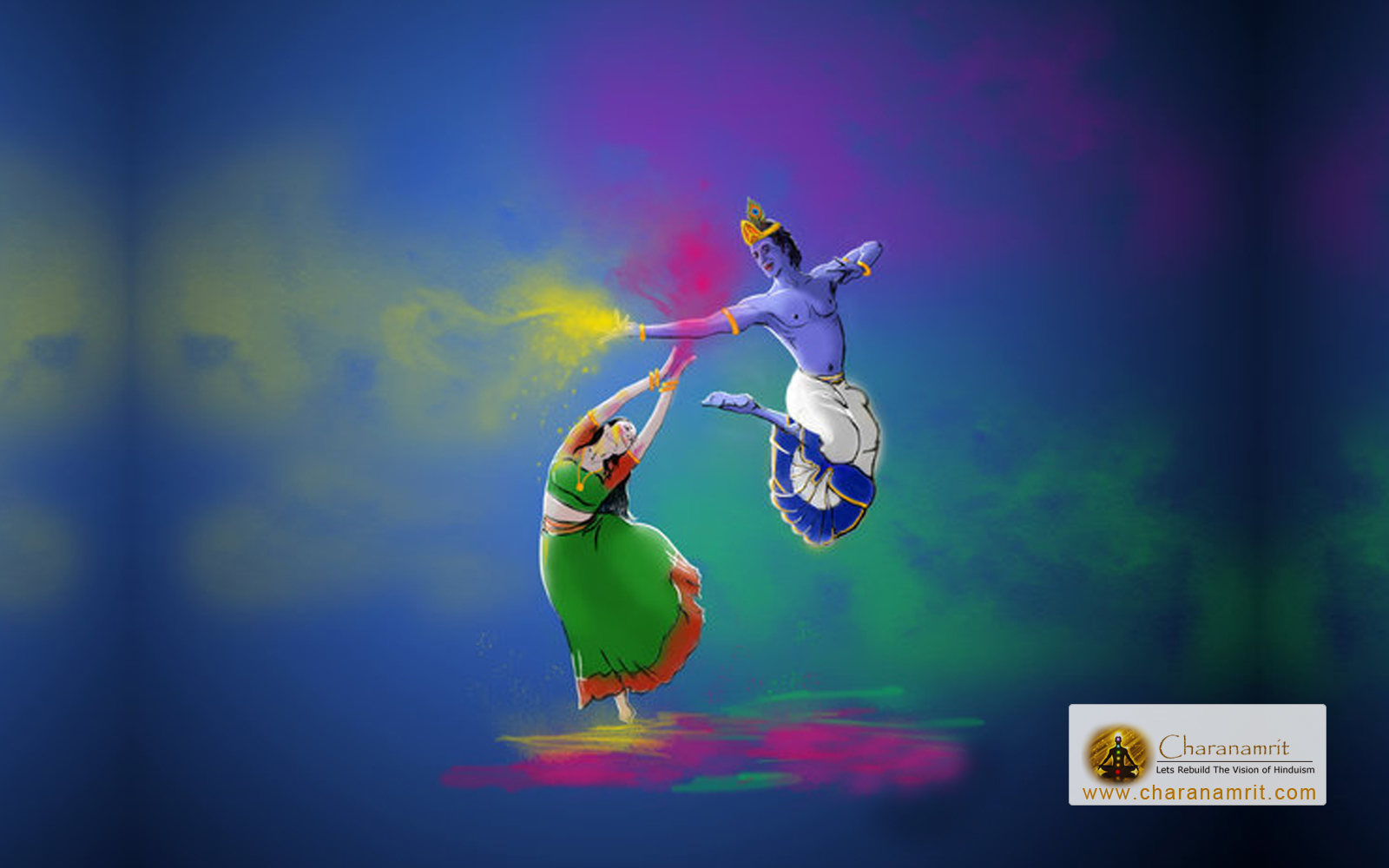 Happy holi radha krishna images - Holi Radha Krishna Wallpaper