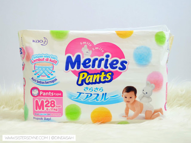 Merries Diapers Pants