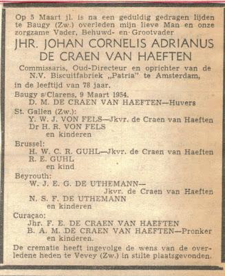 han Cornelis Adrianus de Craen van Haeften