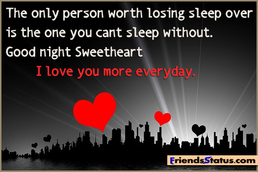 Goodnight Sweetheart Quotes Quotesgram: Goodnight Love Quotes For Him. QuotesGram