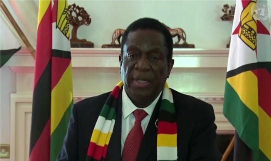 رئيس زيمبابوي يدعو مجلس الأمن إلى الإسراع في إنهاء الإحتلال من الصحراء الغربية