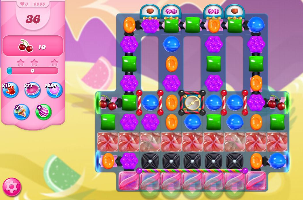 Candy Crush Saga level 8895