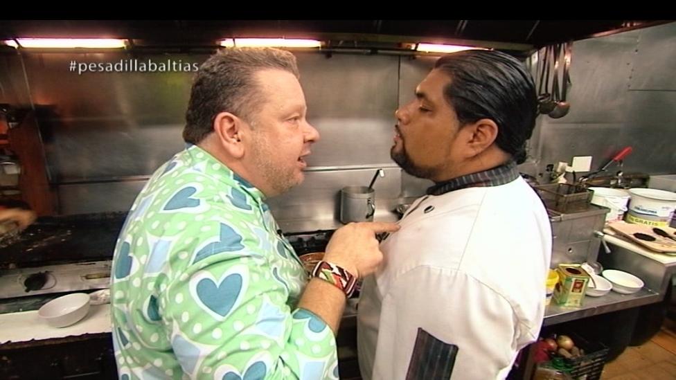 Pesadilla En La Cocina Temporada 3 | Pesadilla En La Cocina Domine Cabra T1x06