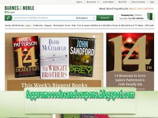 Free Printable Barnes and Noble Coupons