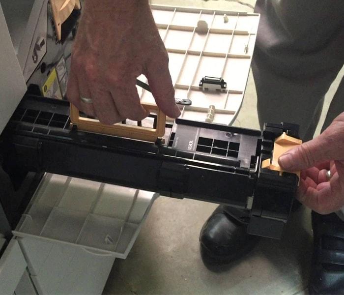 Cách thay drum cho máy photocopy