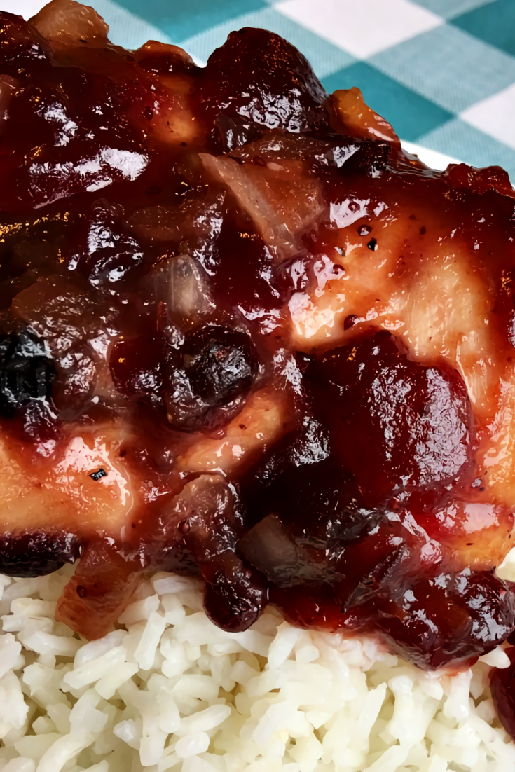 Crock-Pot Cranberry BBQ Chicken Recipe