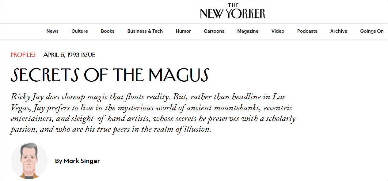Image result for secrets of the magus