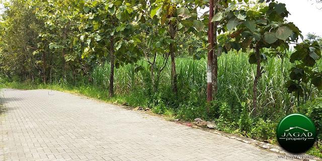 Tanah Luas di jalan Wates Km 8 Selatan BMKG