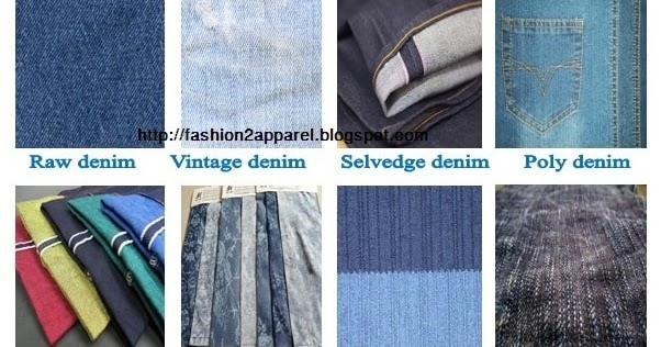 Different Types Of Denim Fabric Used In Apparel