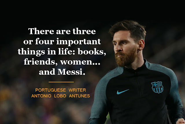 quotes abiout messi