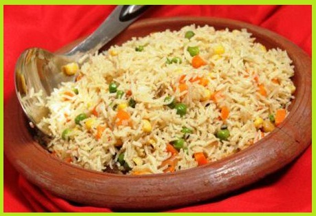 Corn Rice Pulao Recipe