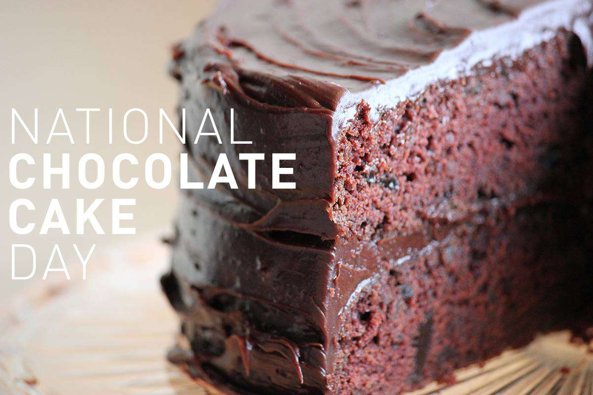National Chocolate Cake Day Wishes Awesome Picture