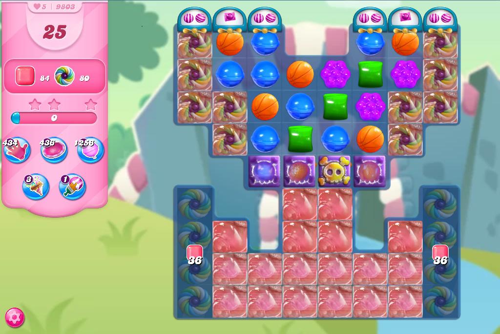 Candy Crush Saga level 9803
