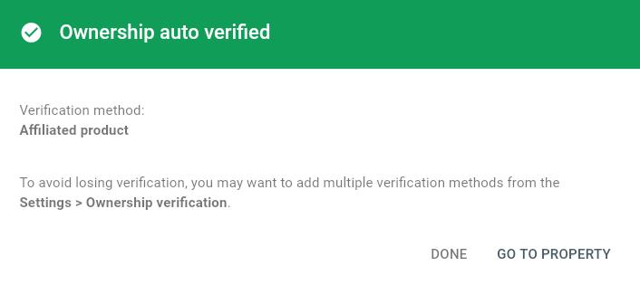 Verify Ownership