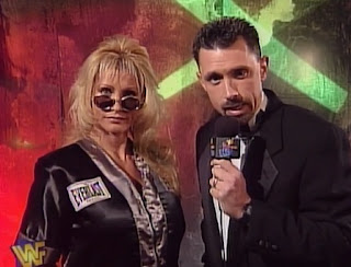 WWE / WWF - In Your House 19: D-Generation-X - Michael Cole interviews Sable