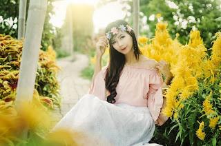 Mengunjungi Surga Bunga di Taman Bunga Cihideung Lembang