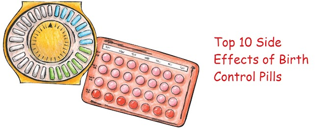 10 Side Effects of Birth Control Pills That You Should know