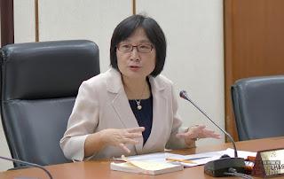 經濟部商業司司長李鎂說明核准大同股東臨時會申請