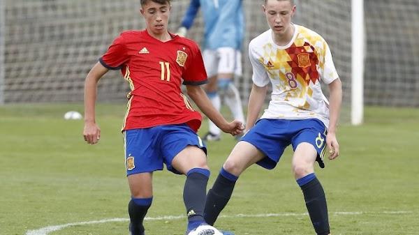 Málaga, David Larrubia no entra en la lista de convocados de España Sub-19