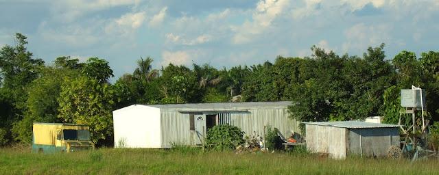 Casas y fincas a la orilla del canal L31N