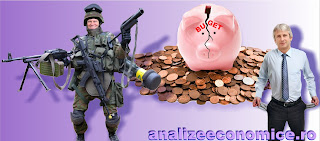 Peste o treime din deficitul bugetar a fost cauzată de cheltuielile cu înzestrarea armatei