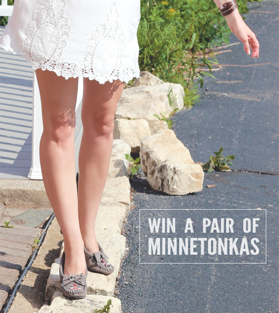 Win A Pair of Minnetonka Shoes from Bubby and Bean!