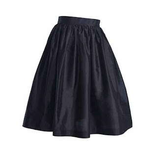 Party Skirts Black Lady Length