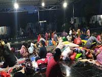 Warga Jayapura Kembali Mengungsi di Lantamal X