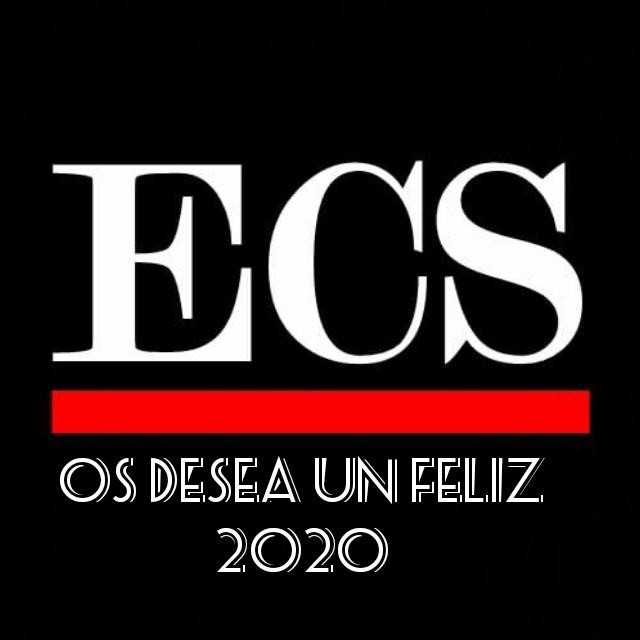 El equipo de ECS les desea un feliz año nuevo 2020