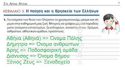 Η ποίηση και η θρησκεία των Ελλήνων - 1η Ενότητα Γεωμετρικά χρόνια - από το «Ψηφιακός Δάσκαλος»