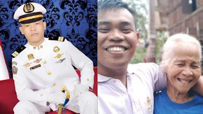 Kisah Pelaut Toraja, Dirawat Oleh Nenek Hingga Sukses Menjadi Perwira Pelaut