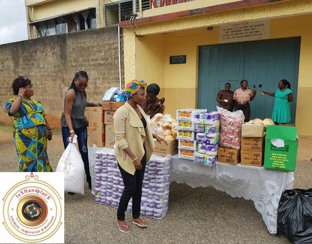 mildred menkiti at the Nsawam Female Prisons, Nsawam, Ghana 12