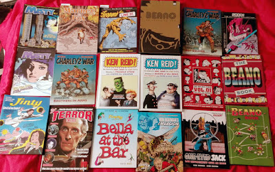 ...for reprints of British comics that is. Just a few years ago fans were  bemoaning the lack of classic reprint material of UK comics. 31dbed909de