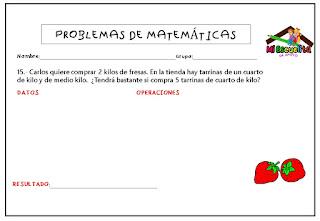 problemas matemáticos para tercer grado de primaria pdf