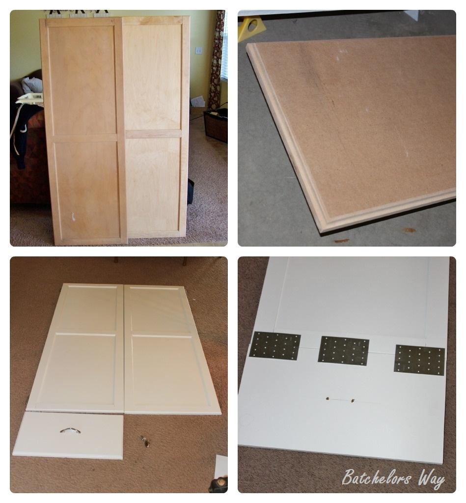 Redo Kitchen Cabinet Doors: Batchelors Way: Office Redo