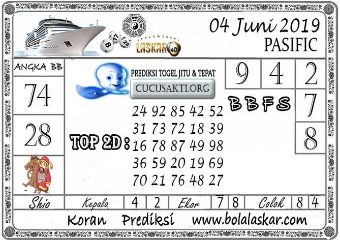 Prediksi Togel PASIFIC LASKAR4D 04 JUNI 2019