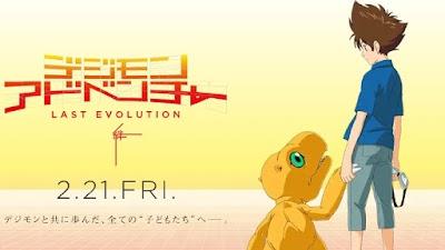 Film Digimon Adventure: Last Evolution Kizuna Akan Tayang Di Indonesia 2020