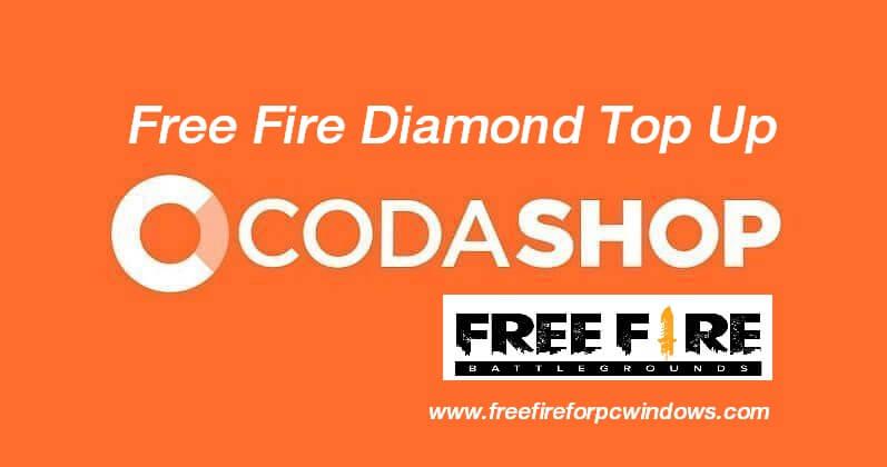 Codashop Free Fire Diamond Top Up