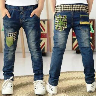 Contoh Model Celana Jeans Anak Laki-Laki
