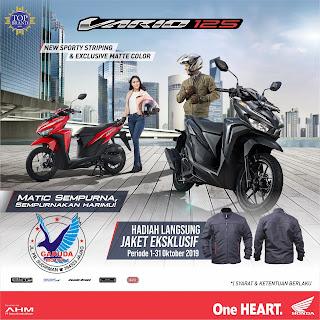 Promo Sepeda Motor Honda Vario125 Banyuwangi