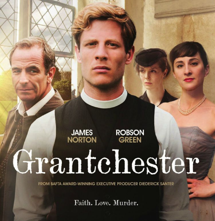 A Vintage Nerd, Period TV Show, 1950s Tv Show, Grantchester, Must See TV, James Norton, Robson Green