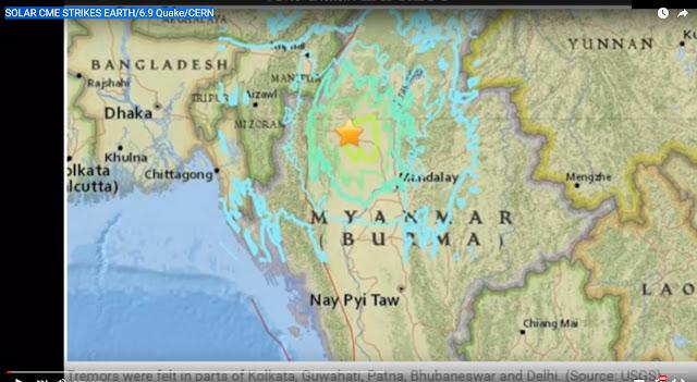 CERN způsobuje kolapsy magnetopauzy, důsledkem jsou zemětřesení na celém světě