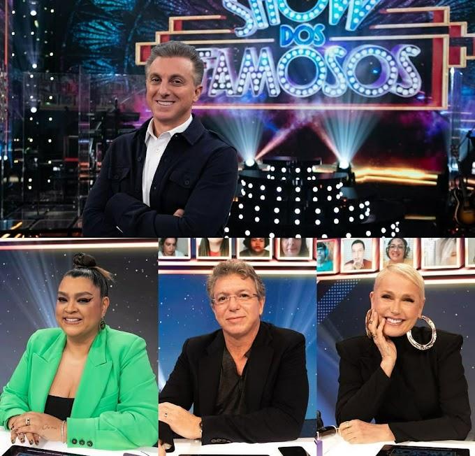'Show dos Famosos': Luciano Huck estreia 'Domingão' com Xuxa, Boninho e Preta Gil