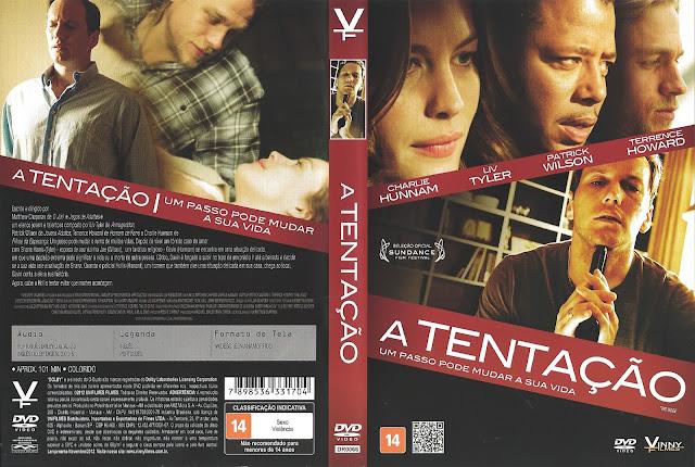 Capa DVD A Tentação