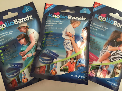 KoolioBandz Identity Bands for kids