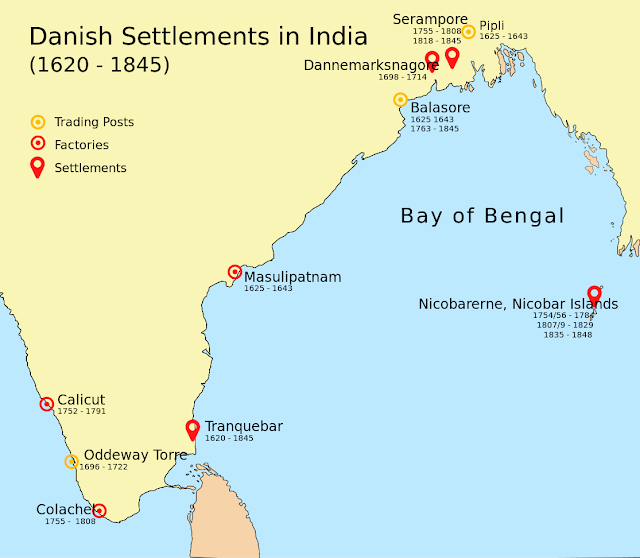 Danish Settlements in India
