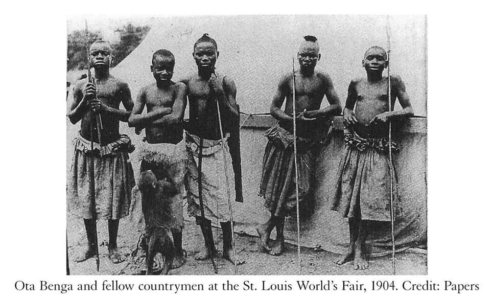 Ota Benga at St Louis World's Fair