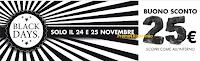 Logo Black Friday da PamPanorama: super sconto da 25 euro